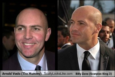 billy zane,arnold voslo,totally looks like,funny
