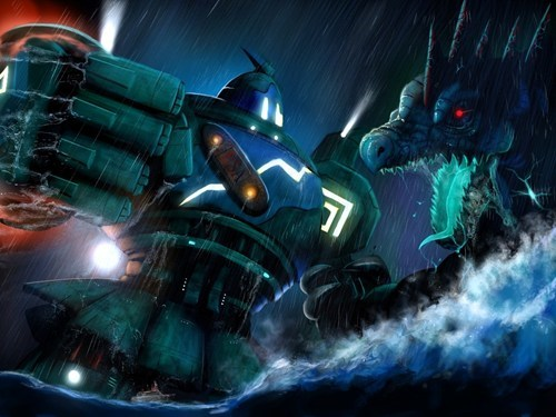 Fan Art golurk funny pacific rim - 7915982848