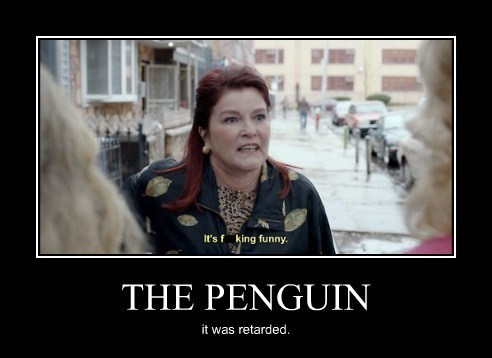 orange is the new black penguin funny - 7916164352