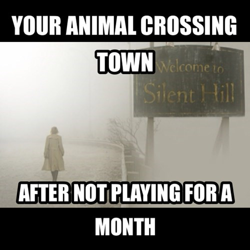 silent hill,animal crossing