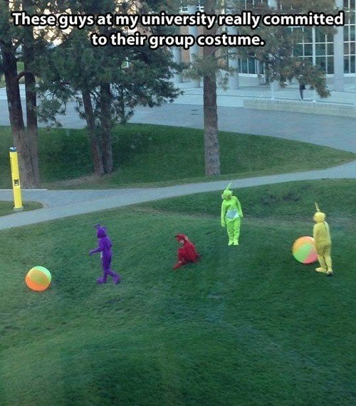 costume school teletubbies g rated School of FAIL