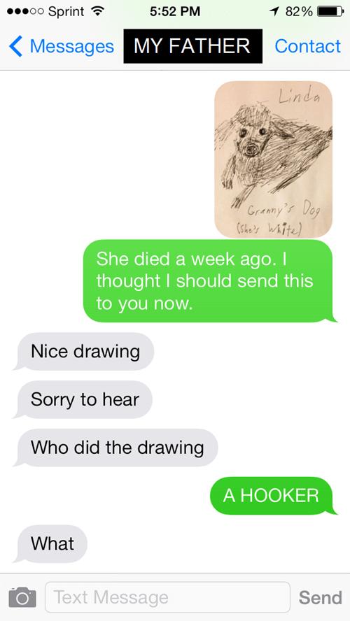 drawing,texting