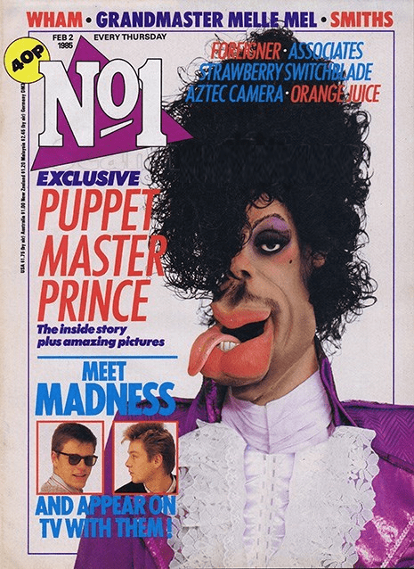 puppets,magazines,prince,wtf