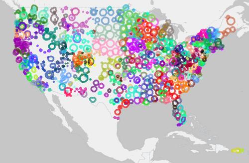 america,map,public radio