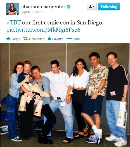 Buffy the Vampire Slayer charisma carpenter celebrity twitter - 7916555776