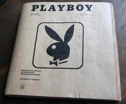 braille fap funny magazine pr0n playboy - 7916595456