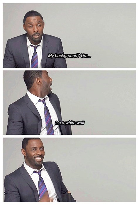 background Idris Elba what's your background - 7916596224