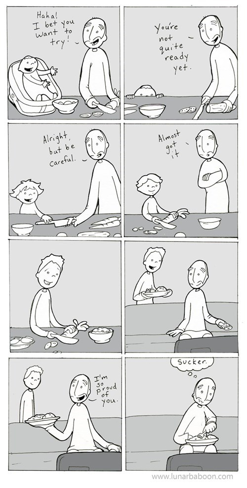 cooking kids parenting funny web comics - 7916606976