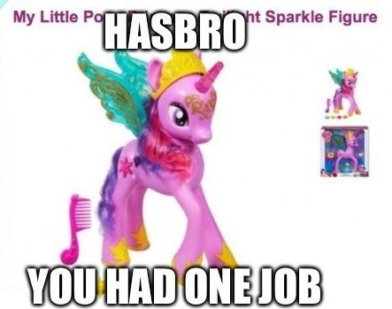 you had one job princess twilight Hasbro