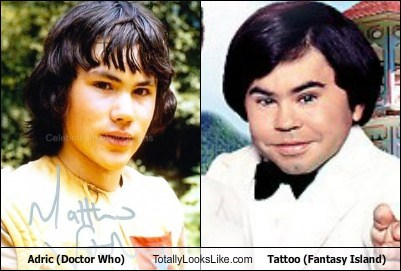 Adric (Doctor Who) Totally Looks Like Tattoo (Fantasy Island)