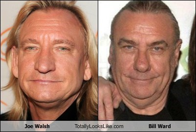 funny,Joe Walsh,totally looks like,bill ward
