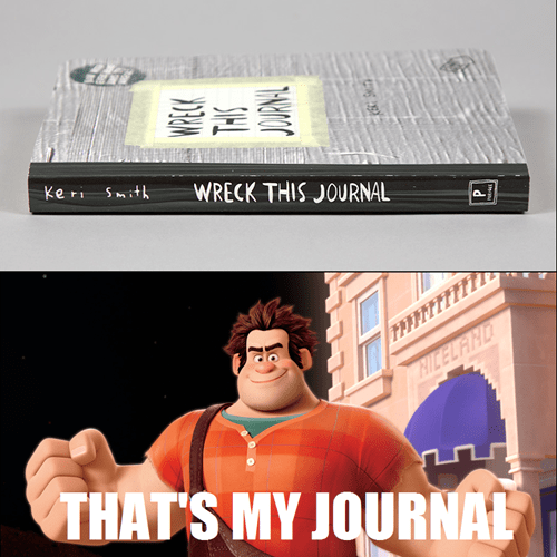 journal disney pixar wreck it ralph - 7917369088