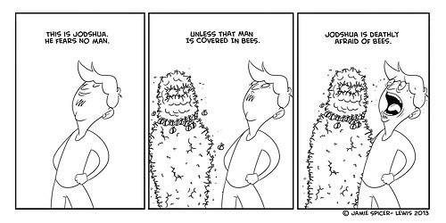 bees,fears,web comics