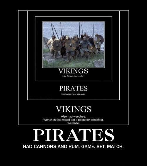 awesome Rum pirates vikings