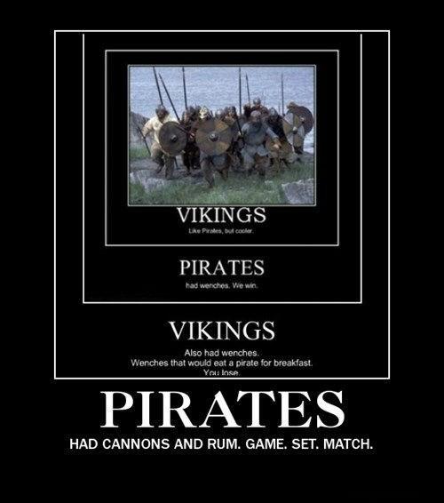 awesome Rum pirates vikings - 7917535744