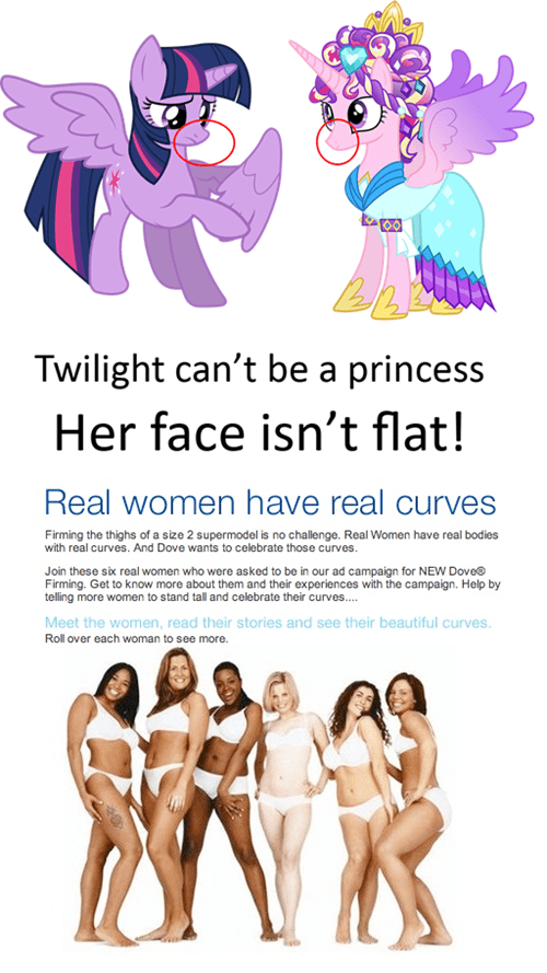 real women,princess twilight,princess cadence