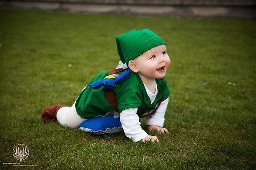 cosplay,kids,legend of zelda,cute