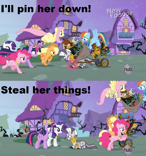 mane 6 thief zecora - 7918175744