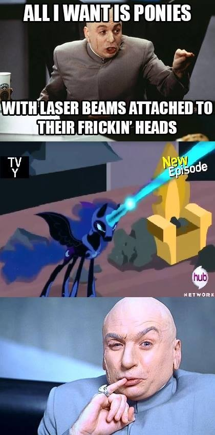 sharks,nightmare moon,dr evil