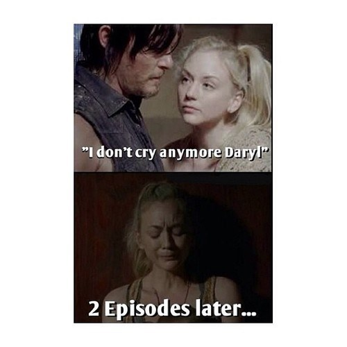 daryl dixon beth greene I don't cry anymore - 7918422272