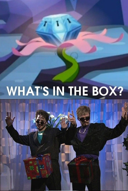 MLP,chest,whats in the box,SNL