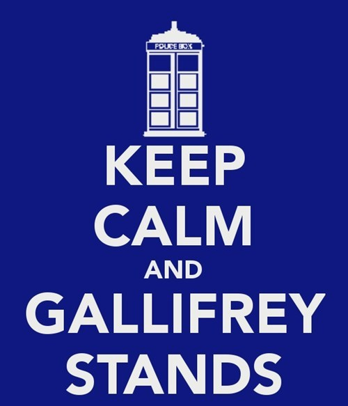 50th anniversary doctor who keep calm - 7918543872