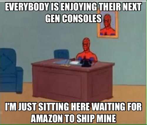 shipping,amazon,next gen,consoles