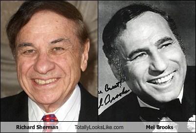 funny totally looks like mel brooks richard sherman - 7919228416