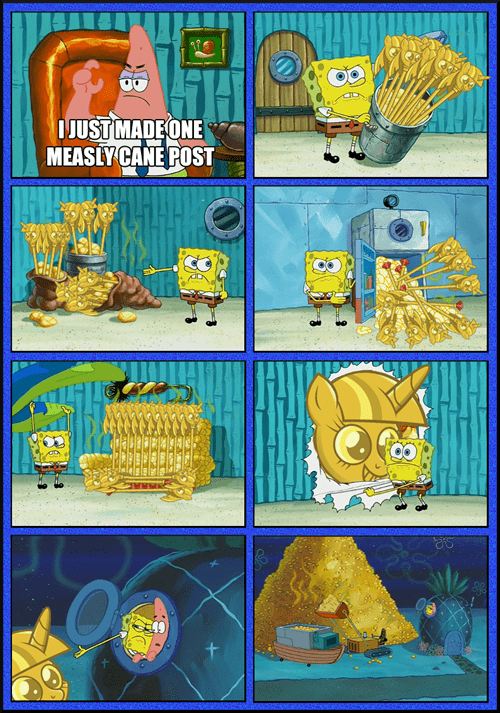 SpongeBob SquarePants twicane one post - 7919255040