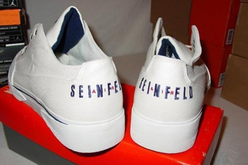 funny shoes nike seinfeld wtf - 7919314688