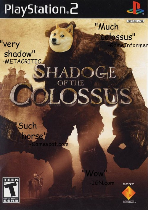 doge,shadow of the colossus