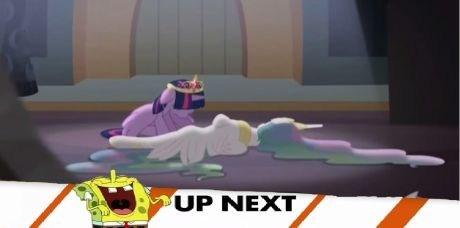 princess celestia SpongeBob SquarePants twilight sparkle - 7919723264