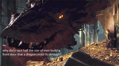 FAIL The Hobbit smaug - 7919742208