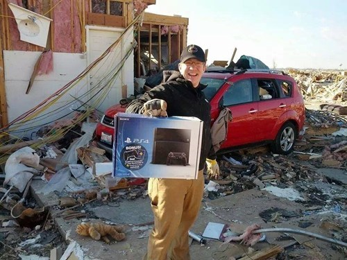 Sad,tornado,weather,PlayStation 4,Video Game Coverage