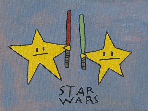 lightsabers,star wars,literal