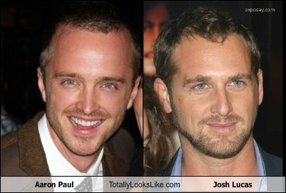 aaron paul,totally looks like,josh lucas