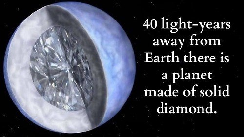 diamonds,funny,science,planets,cruelty free