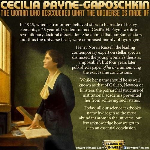 awesome,science,women,cecilia payne