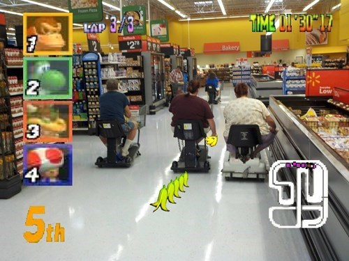 Mario Kart scooters murica - 7920242944