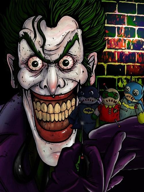 the joker batman voodoo - 7920334848