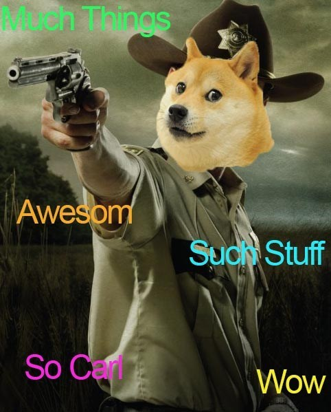 Rick Grimes,doge,stuf and things