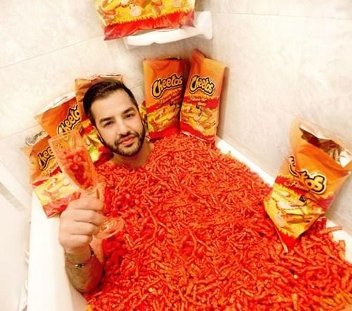 cheetos flaming hot cheetos cheeto bath - 7921355520