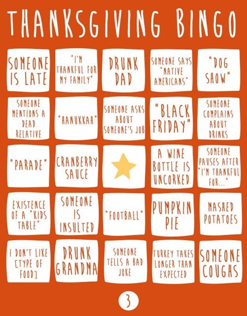bingo,blackout,thanksgiving,thanksgiving bingo