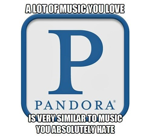 hate Music pandora love g rated