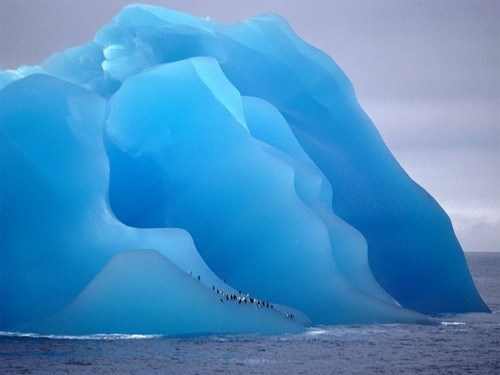 awesome blue science iceberg - 7921504512