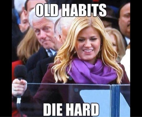 old habits,kelly clarkson,bill clinton