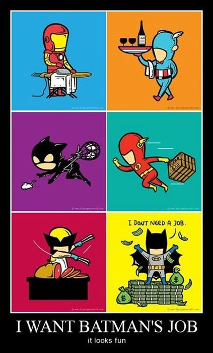 jobs iron man superheroes batman funny - 7921755392