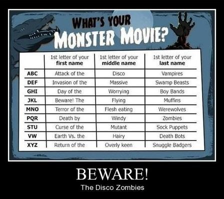 horror movies,funny,name