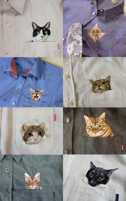 fashion the internets embroidery Cats poorly dressed g rated - 7921928704