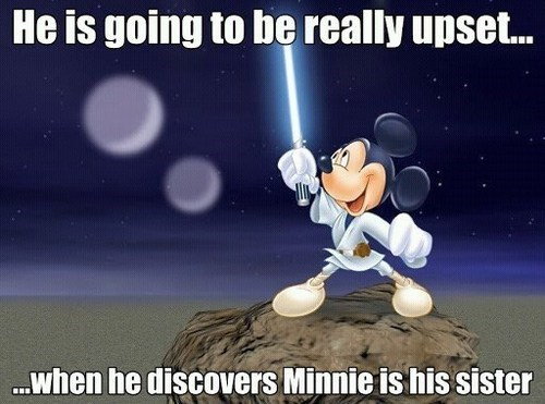 disney star wars mickey mouse luke skywalker